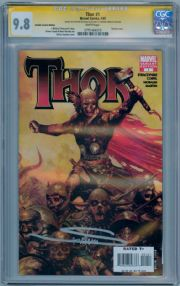 Thor #1 Zombie Retail Variant CGC 9.8 Signature Series Signed Arthur Suydam Marvel comic book